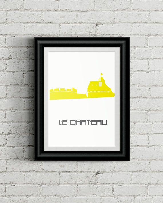 Poster-chateau